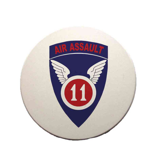 11th air assault sandstone coaster