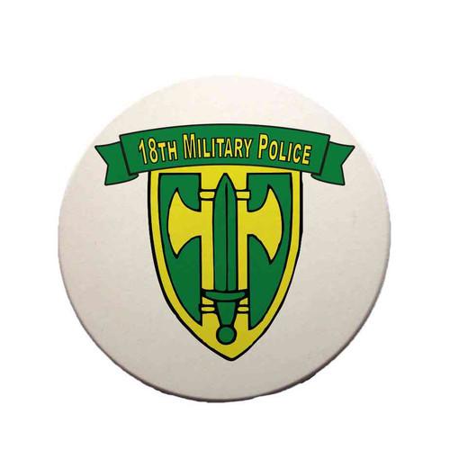 18th military police brigade sandstone coaster