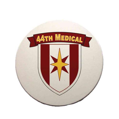 44th medical brigade sandstone coaster