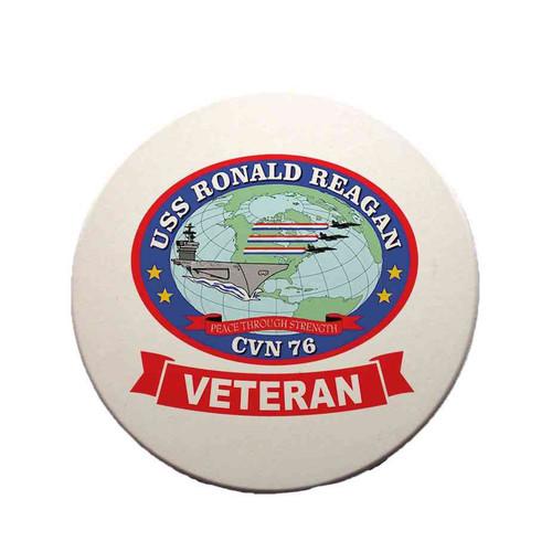 uss ronald reagan veteran sandstone coaster