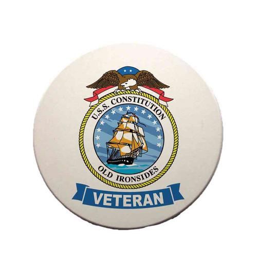 uss constitution veteran sandstone coaster