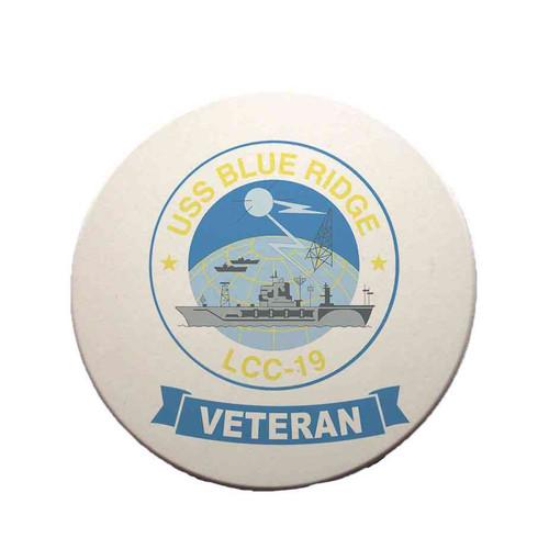 uss blue ridge veteran sandstone coaster