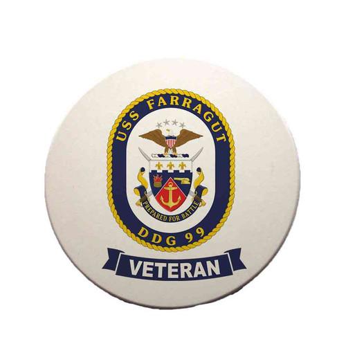 uss farragut veteran sandstone coaster