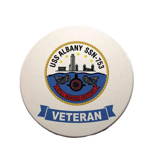 uss albany veteran sandstone coaster