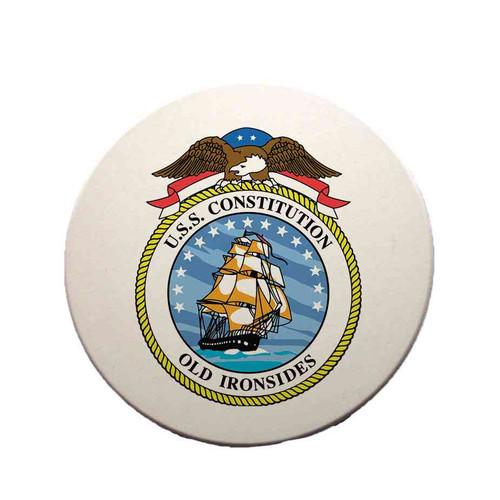 uss constitution sandstone coaster