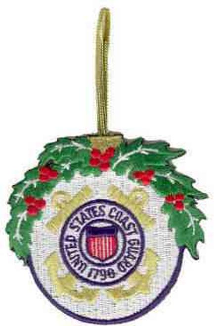 u s coast guard christmas ornament