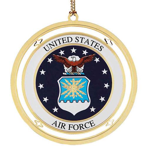 air force christmas ornament
