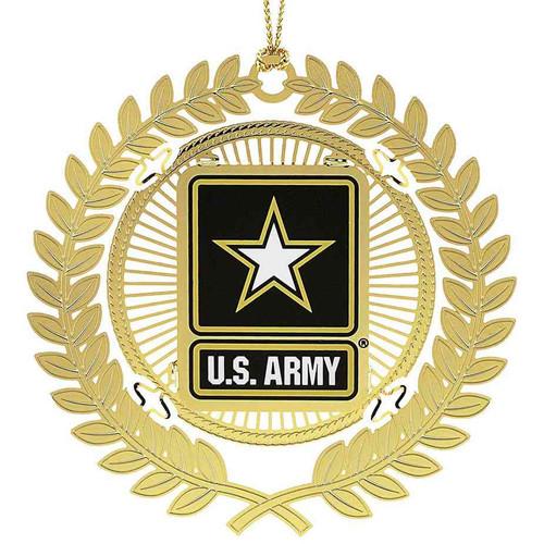 u s army logo christmas ornament