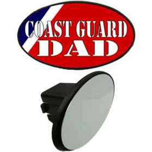 coast guard dad tow hitch cover