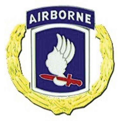 army 173rd a b div hat lapel pin