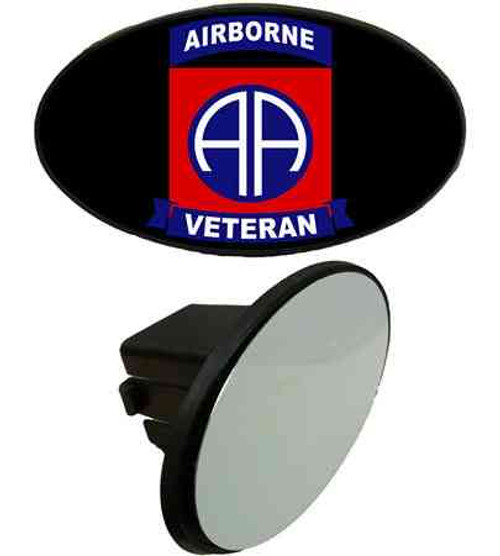 82nd airborne veteran tow hitch cover