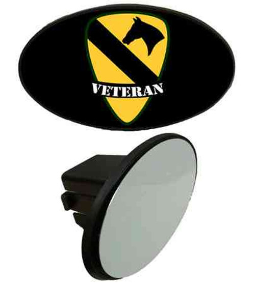 army 1st cavalry division veteran tow hitch cover