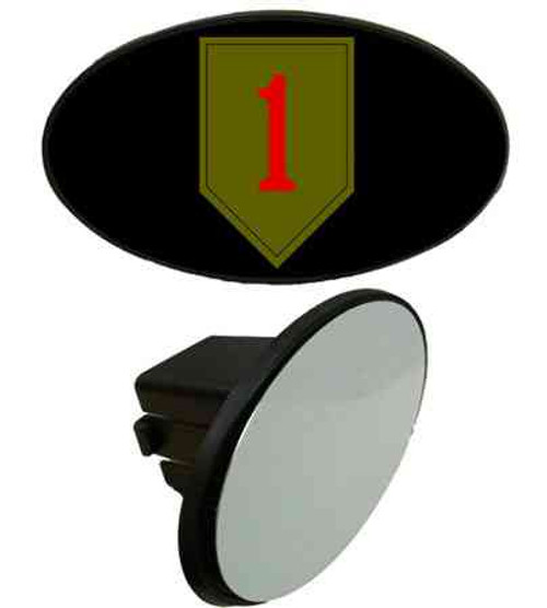army 1st infantry division tow hitch cover