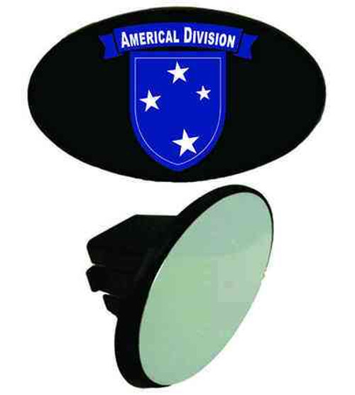 army americal 23rd infantry division tow hitch cover