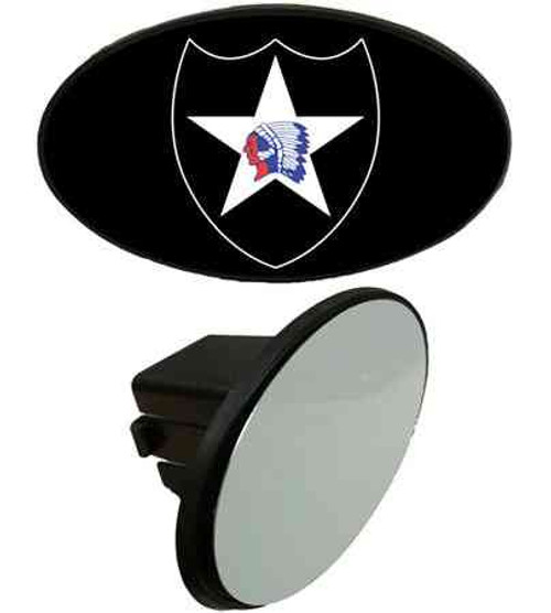 army 2nd infantry division tow hitch cover