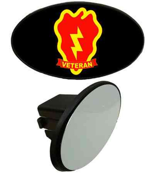 army 25th infantry division veteran tow hitch cover