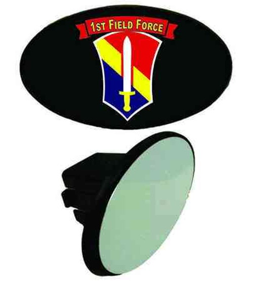 army 1st field force tow hitch cover