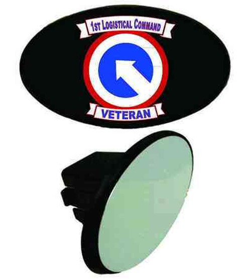 army 1st logistical command veteran tow hitch cover