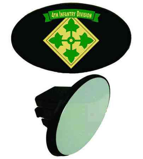 army 4th infantry division tow hitch cover