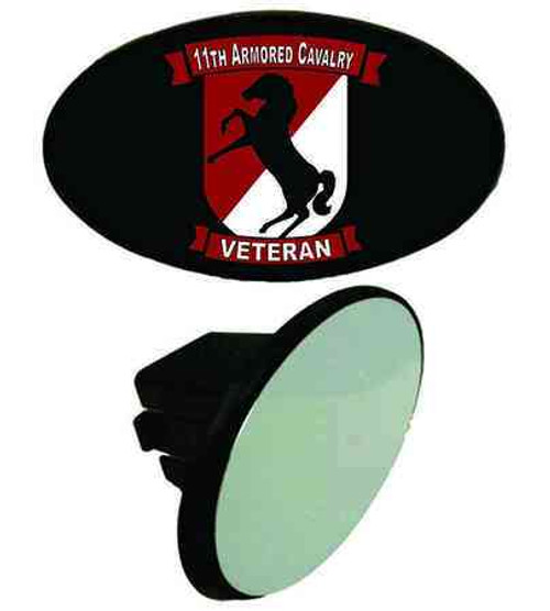 army 11th armored cavalry veteran tow hitch cover