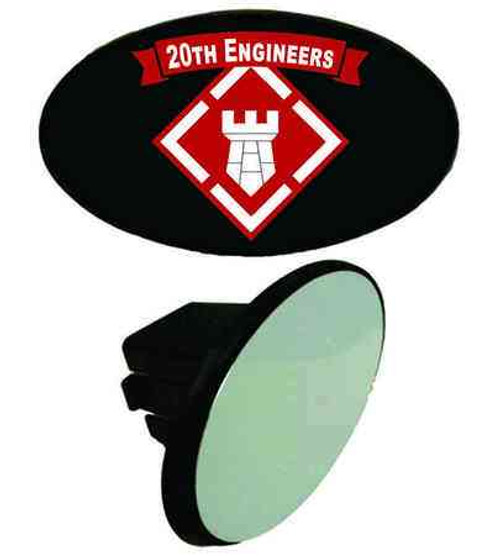 army 20th engineers tow hitch cover