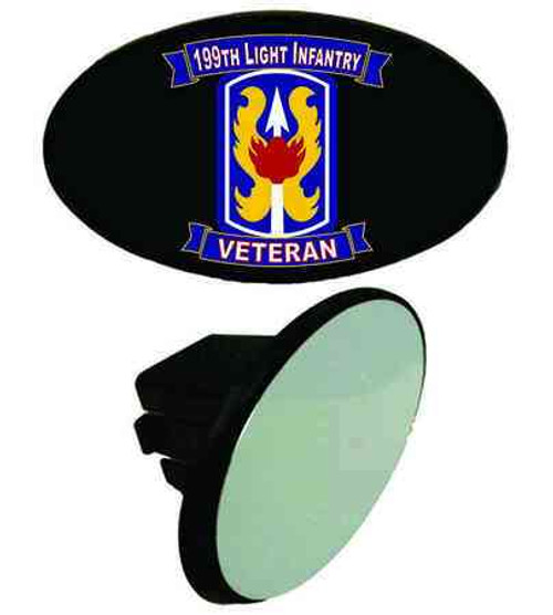 army 199th light infantry veteran tow hitch cover