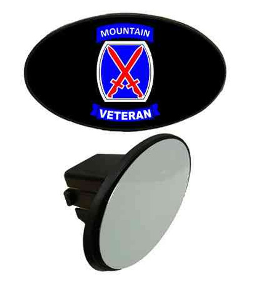 army 10th mountain division veteran tow hitch cover