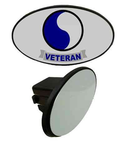 army 29th infantry division veteran tow hitch cover