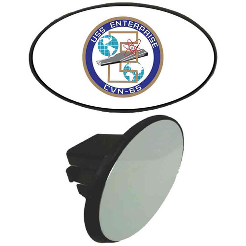 navy uss enterprise tow hitch cover