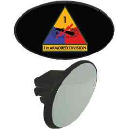 1st armored division tow hitch cover