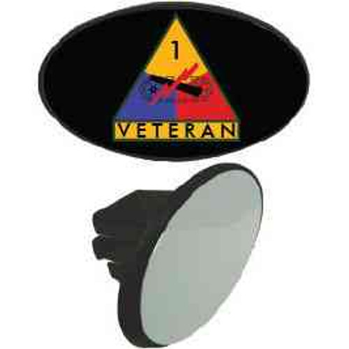 1st armored division veteran tow hitch cover