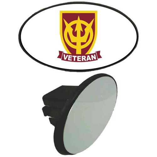 4th transportation command veteran tow hitch cover