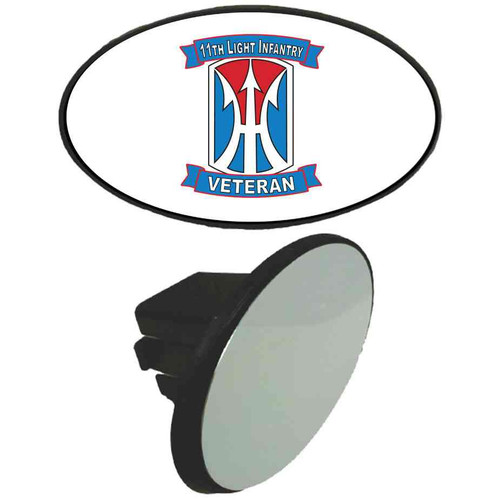 11th light infantry brigade veteran tow hitch cover