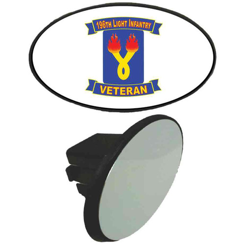 196th light infantry brigade veteran tow hitch cover