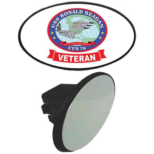 uss ronald reagan veteran tow hitch cover