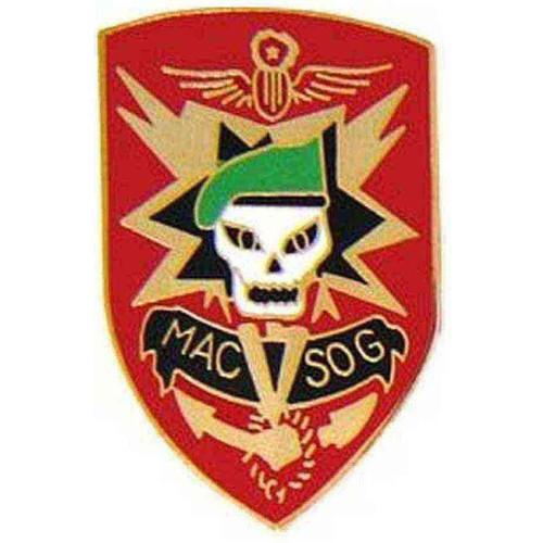 army macv sog hat lapel pin
