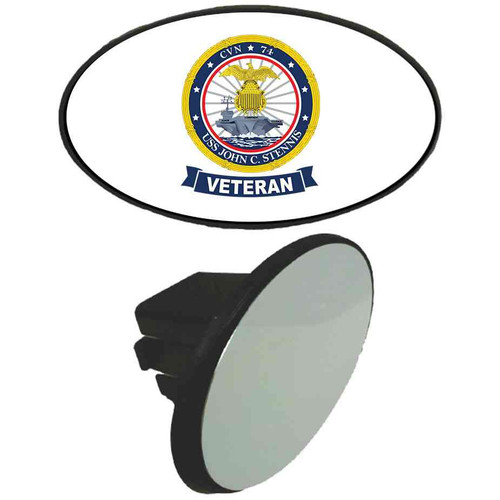 uss john c stennis veteran tow hitch cover