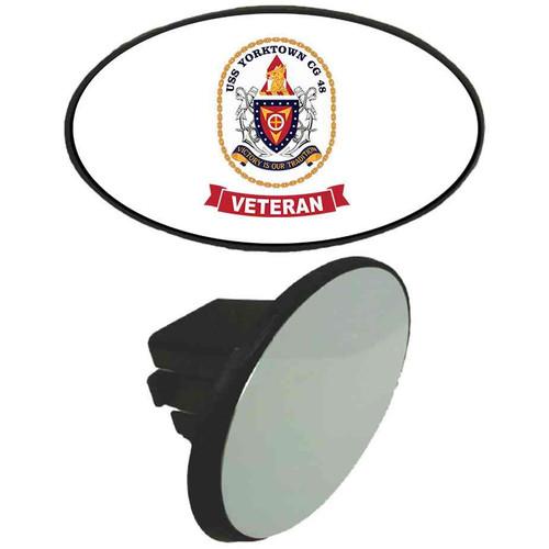 uss yorktown veteran tow hitch cover