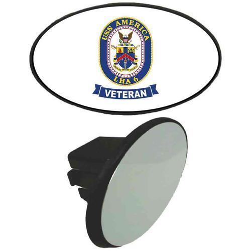uss america veteran tow hitch cover