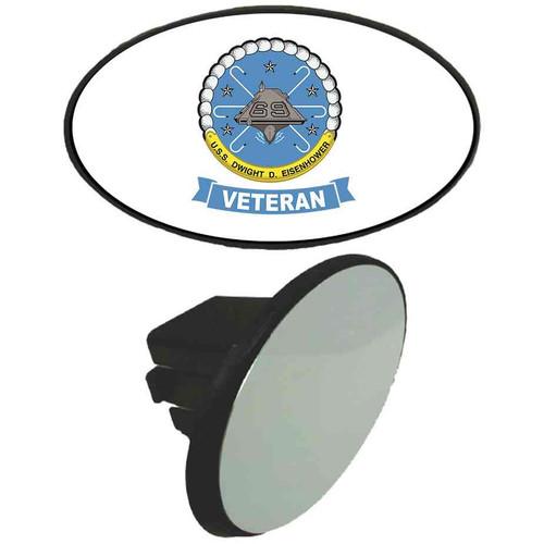uss dwight d eisenhower veteran tow hitch cover