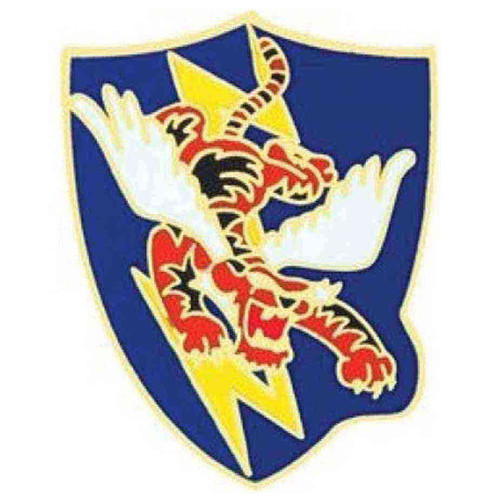 air force 23rd flying tiger hat lapel pin