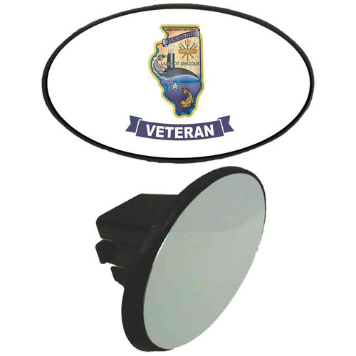 uss illinois veteran tow hitch cover