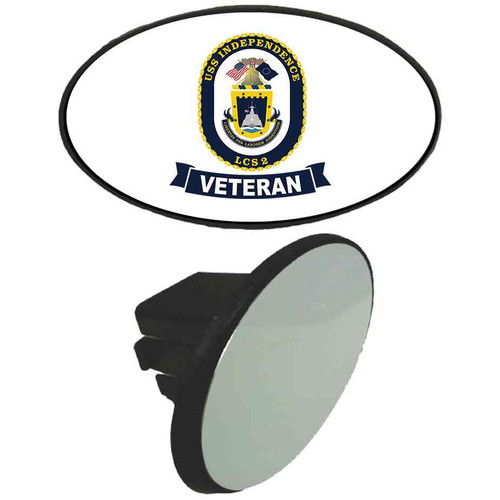 uss independence veteran tow hitch cover