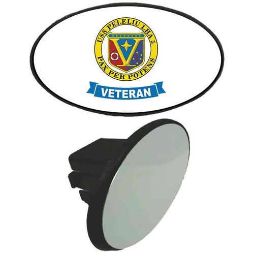 uss peleliu veteran tow hitch cover