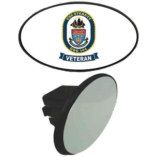 uss sterett veteran tow hitch cover