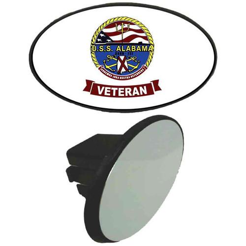 uss alabama veteran tow hitch cover