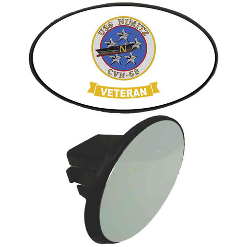 uss nimitz veteran tow hitch cover