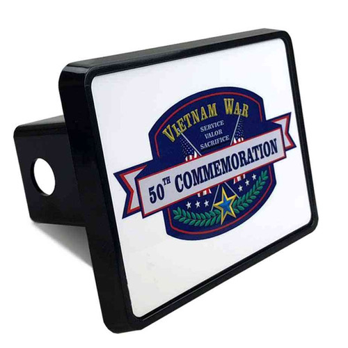 vietnam war 50th commemoration tow hitch cover