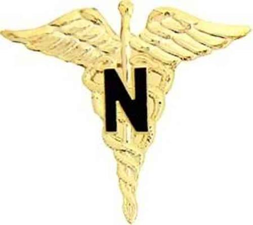 army nurse hat lapel pin