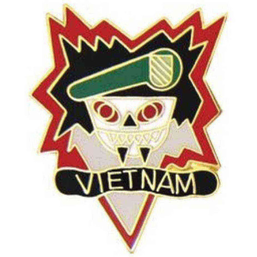 army vietnam macv sog hat lapel pin